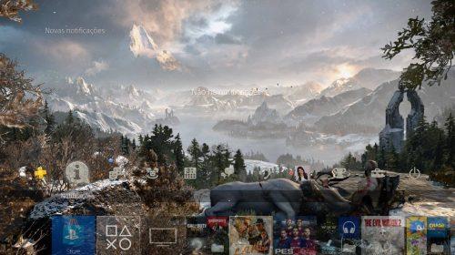 [PSX] Sony oferece tema dinâmico do God of War; veja como ganhar
