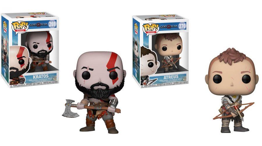 God of War: Kratos e Atreus ganharão versões em POP