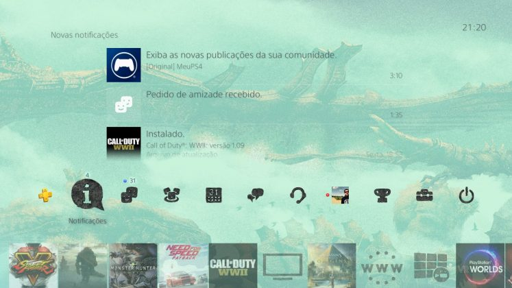 Sony oferece tema dinâmico gratuito de Shadow of the Colossus; resgate o seu! 2