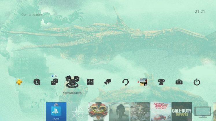 Sony oferece tema dinâmico gratuito de Shadow of the Colossus; resgate o seu! 3