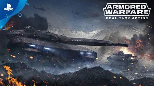 Armored Warfare, jogo free-to-play, chegará ao PS4 em fevereiro