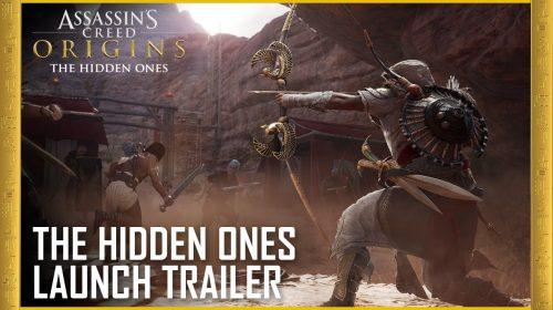 Os Ocultos, expansão de Assassin's Creed Origins, recebe trailer