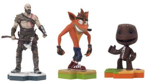 Sony anuncia figuras colecionáveis do PlayStation; conheça