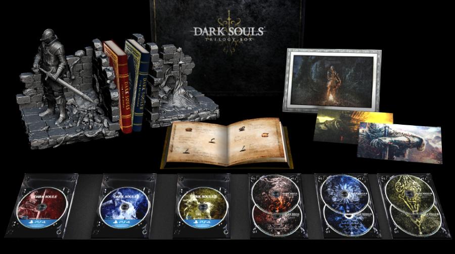 Edição Dark Souls Trilogy é anunciada para o Japão; Preço de matar!
