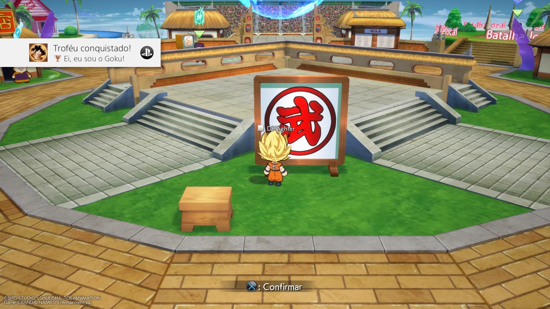 Dragon Ball FighterZ - Vilarejo