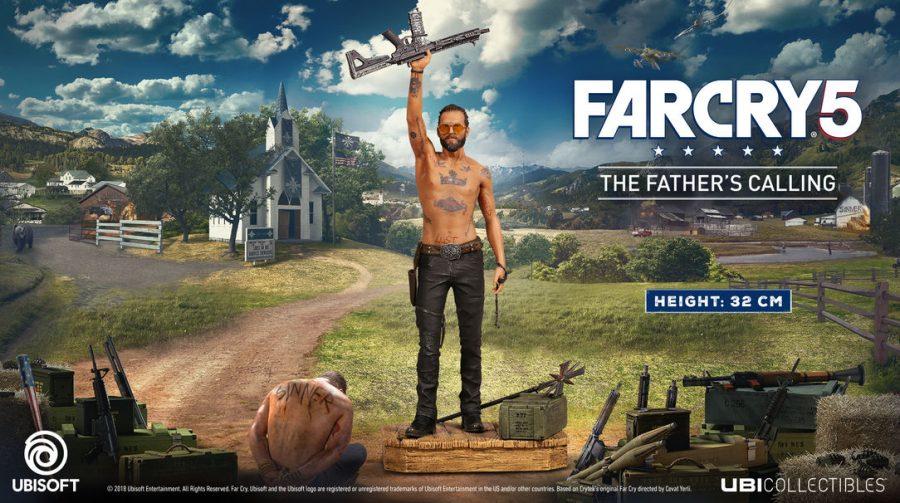 Vilão de Far Cry 5 ganha colecionável incrível; confira