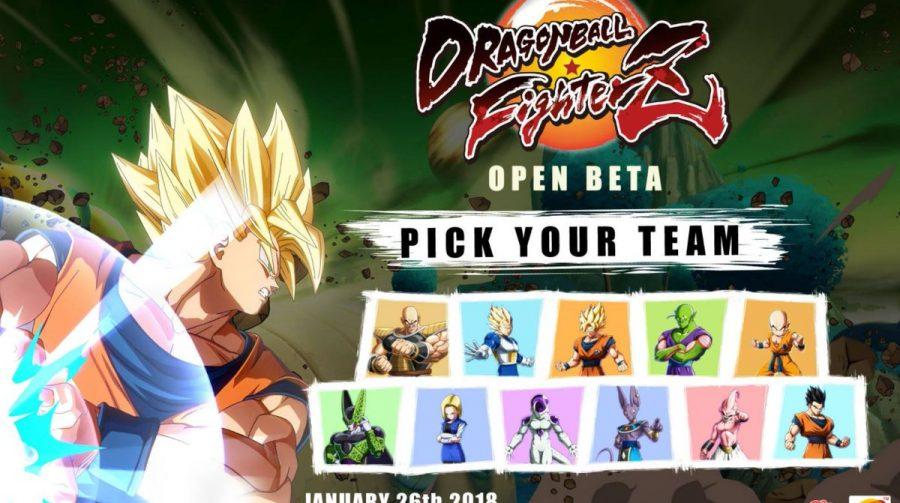 Dragon Ball FighterZ: personagens do open beta e trailer de Goku Black