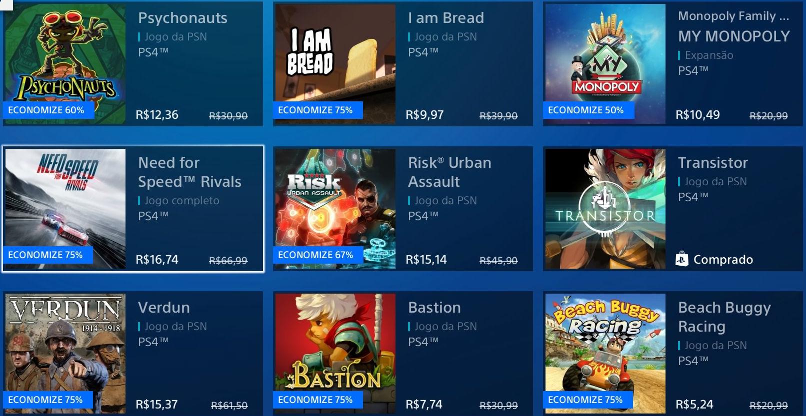 """Sony revela """"Promoção Flash"""" de Janeiro na PSN; veja jogos 1"""