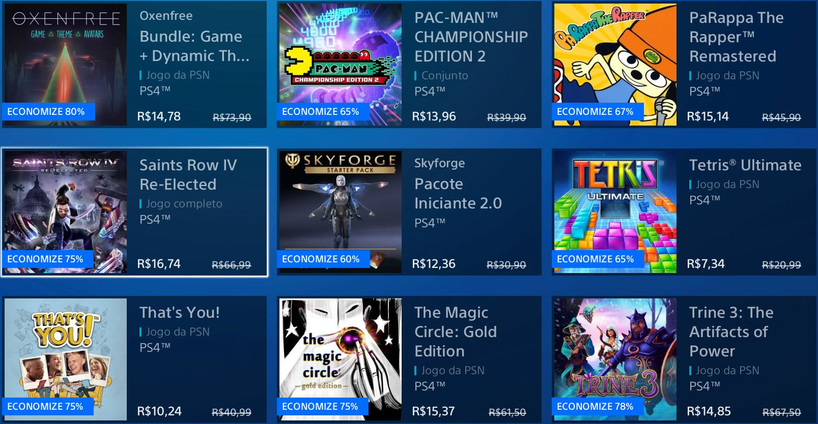 """Sony revela """"Promoção Flash"""" de Janeiro na PSN; veja jogos 4"""