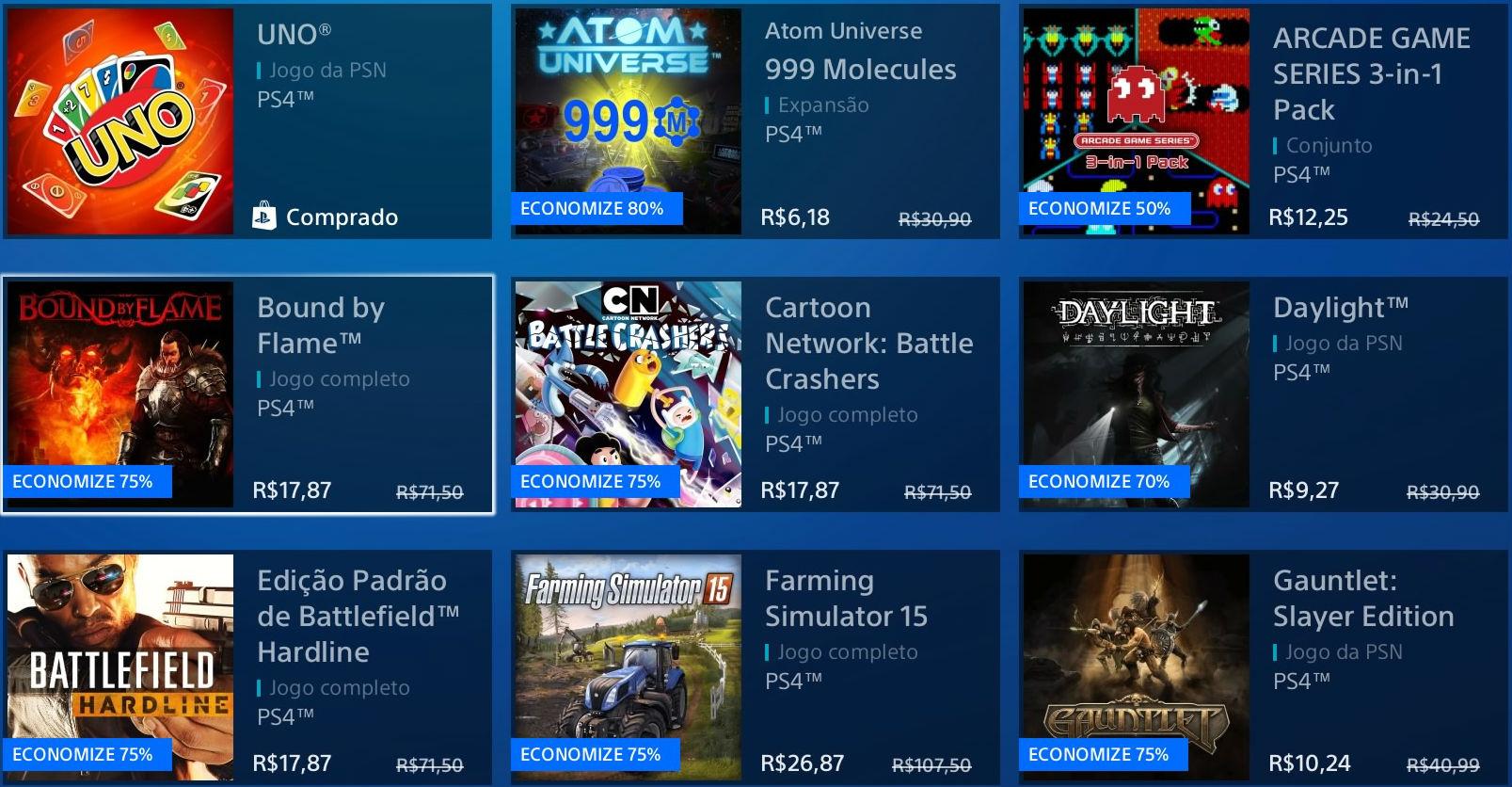 """Sony revela """"Promoção Flash"""" de Janeiro na PSN; veja jogos 5"""