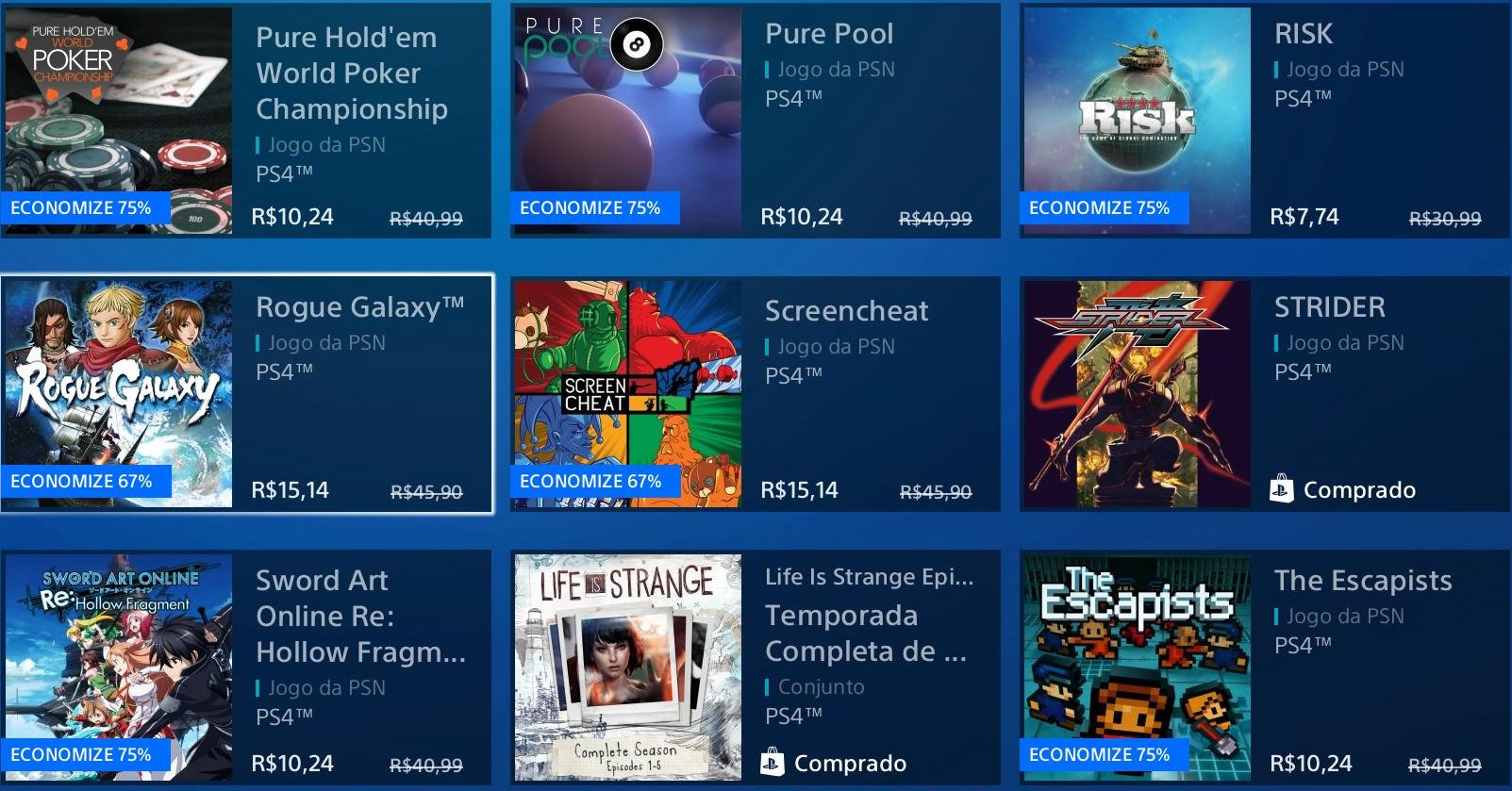 """Sony revela """"Promoção Flash"""" de Janeiro na PSN; veja jogos 8"""