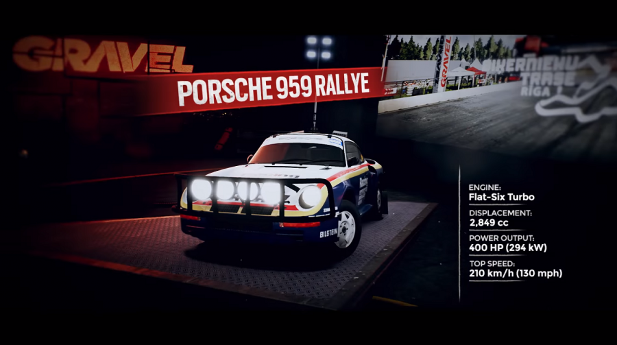 Gravel recebe trailer de anúncio de DLC Porsche Rallye; Saiba mais