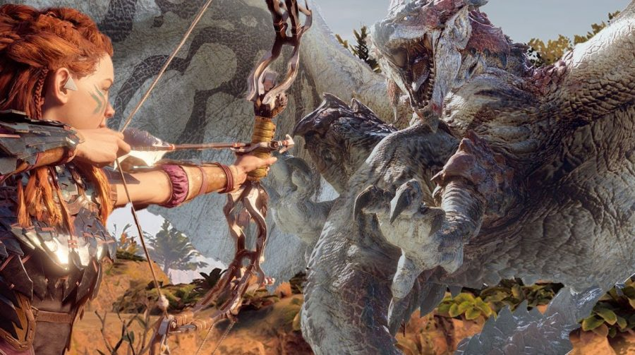 Colaboração entre Horizon Zero Dawn e Monster Hunter World começa hoje