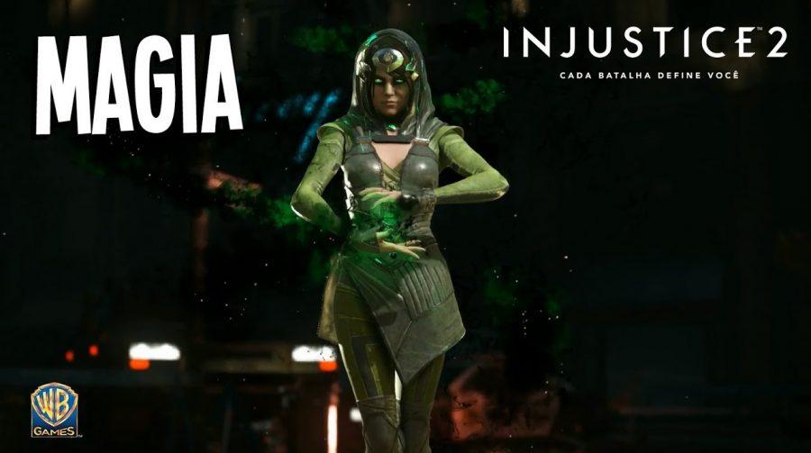 Novo trailer de Injustice 2 revela personagem Magia; assista