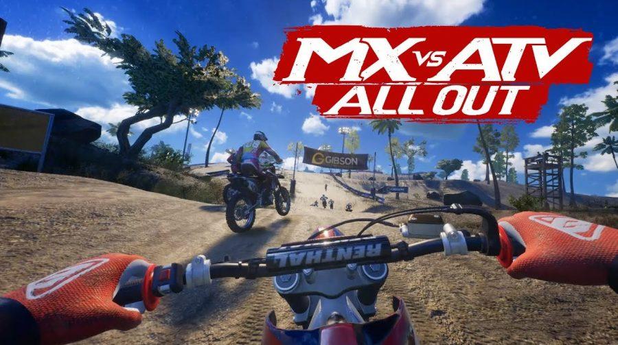 MX vs. ATV All Out Anniversary Edition é anunciado para o PS4