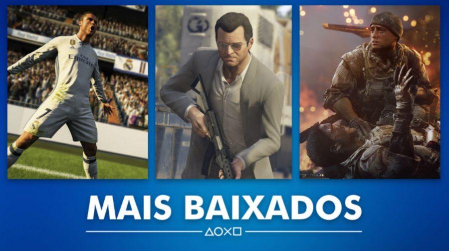 Sony revela quais foram os jogos mais vendidos do ano na PSN do Brasil