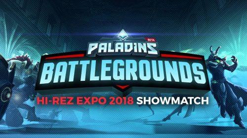 Hi-Rez revela primeiro gameplay de PaladinsBattlegrounds; assista