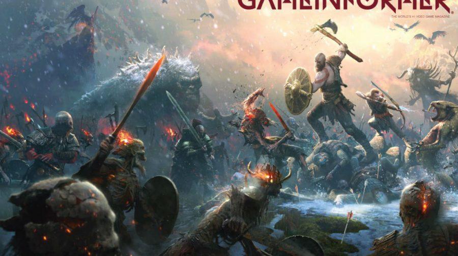 God of War será capa da próxima edição da revista Game Informer