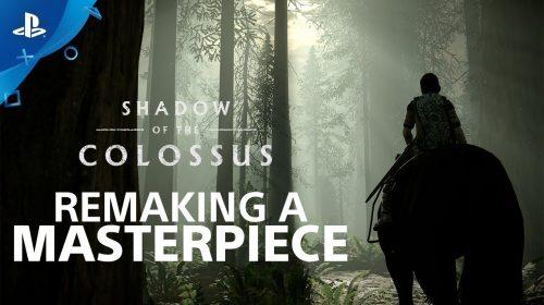 Shadow of the Colossus: desenvolvedores exaltam remake