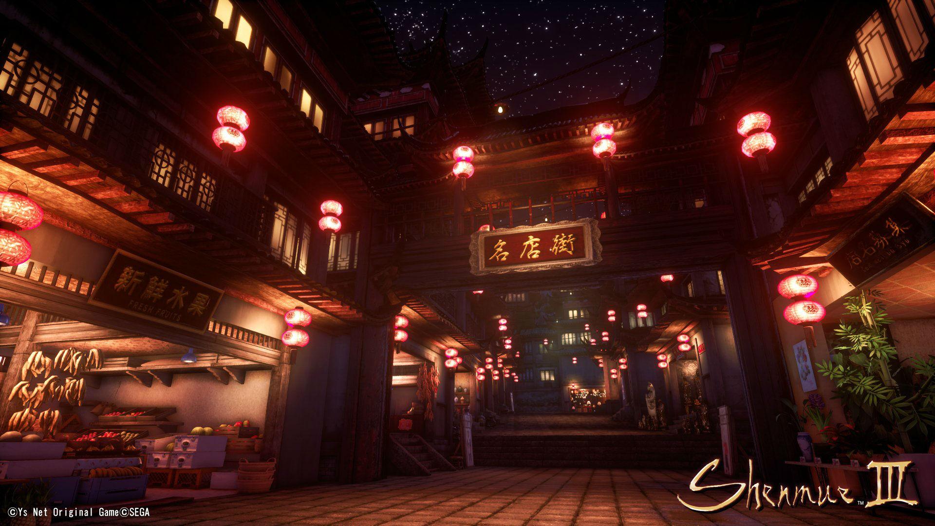 Ys Net revela belas imagens novas de Shenmue 3; veja 2