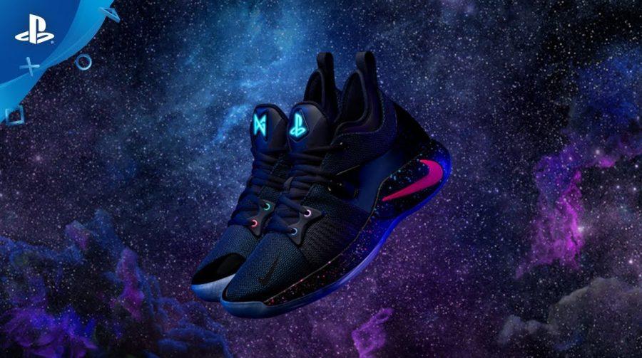 Em parceria com Sony e Paul George, Nike anuncia tênis do PlayStation