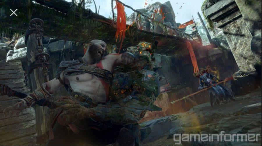 Game Informer traz imagens épicas e novas informações sobre God of War