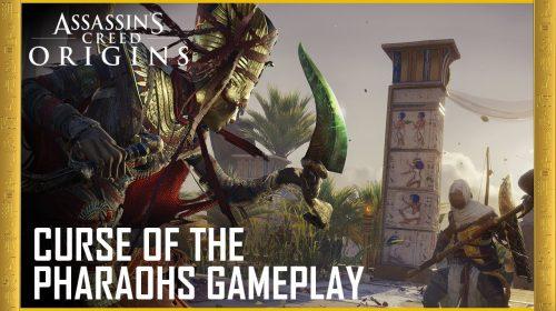 Ubisoft revela próxima grande expansão de Assassin's Creed Origins