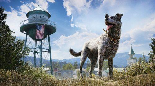 Mais detalhes de Boomer, seu melhor amigo e mascote de Far Cry 5