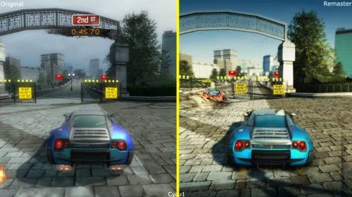 Compare: Burnout Paradise Remastered com versão original de 2008