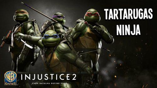 Pizza! Novo trailer apresentam As Tartarugas Ninjas em Injustice 2