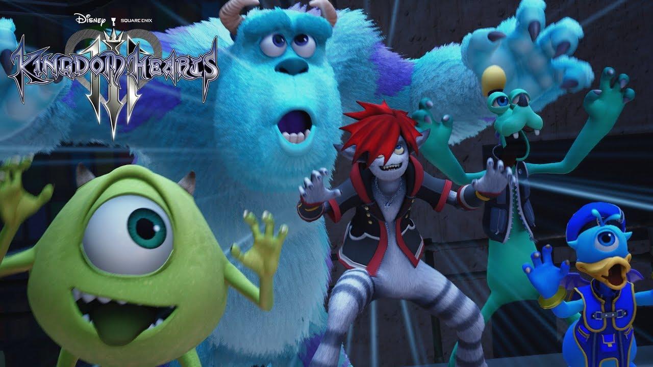 Relatórios da Square sugerem que Kingdom Hearts 3 chega ainda em 2018 1