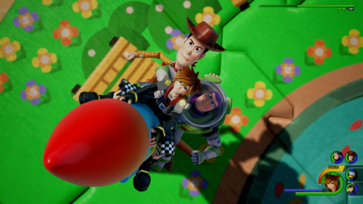 Novo gameplay de Kingdom Hearts lll