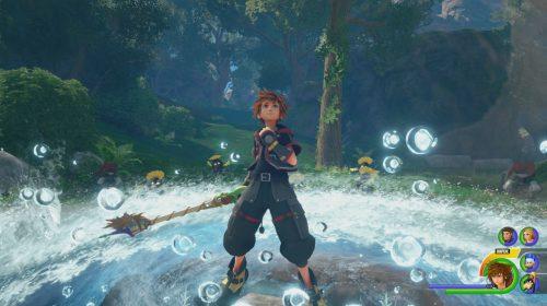 Kingdom Hearts 3 recebe belas imagens, informações extras e estatuetas
