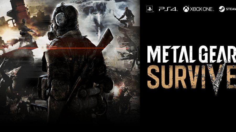 Metal Gear Survive recebe versão