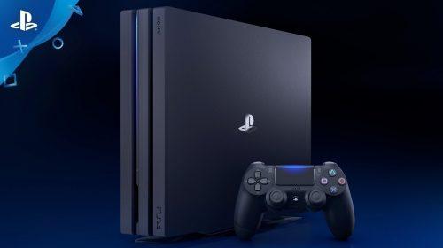 Sony anuncia PS4 Pro de 2TB no Japão; Lançamento será no fim do mês