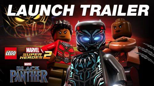 Pantera Negra chega ao LEGO Marvel Super Heroes 2; assista trailer