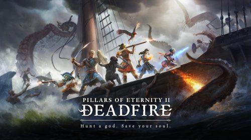 Pillars of Eternity II: Deadfire chegará ao PS4 em 2019, reforça estúdio