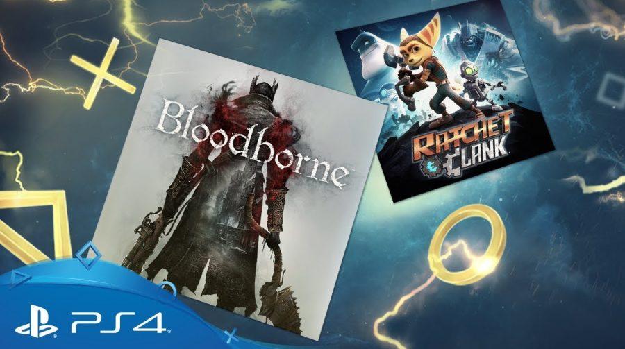 [Oficial] PlayStation Plus Março de 2018 oferece Bloodborne e Ratchet & Clank