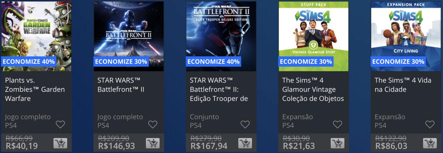 Promoção EA