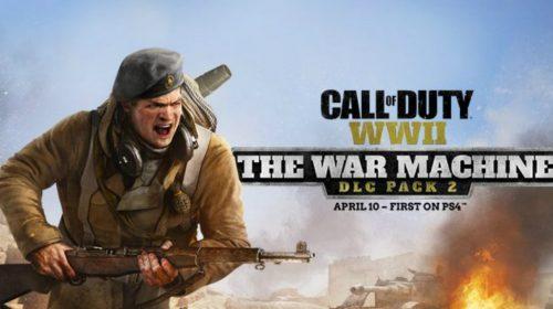 'A Máquina de Guerra' será próxima expansão de Call of Duty WWII