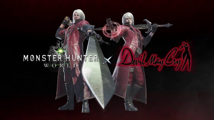 Dante, de Devil May Cry, se junta à Monster Hunter World; veja trailer