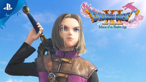 Versão ocidental de Dragon Quest XI chega ao PS4 em setembro; veja trailers