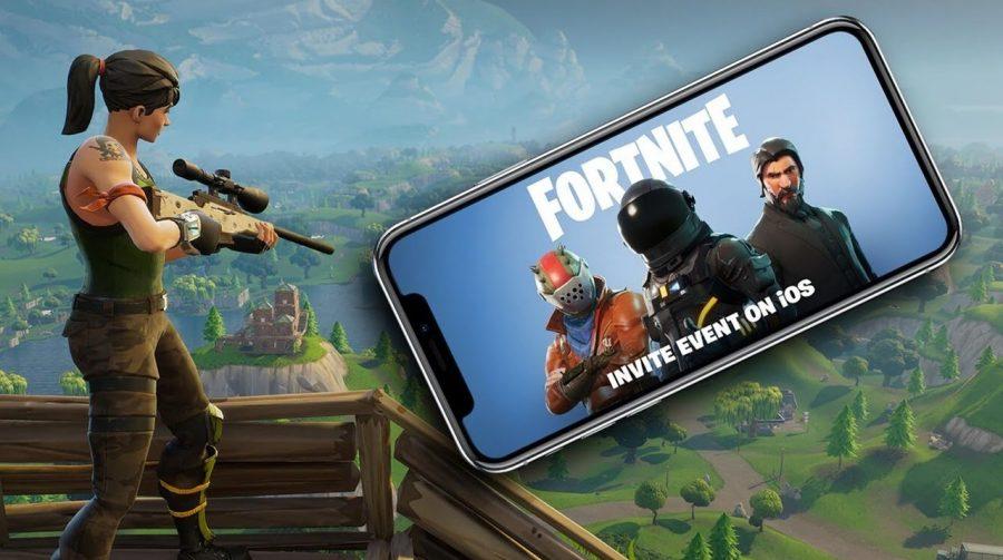 Fortnite: Battle Royale Mobile terá cross-play com PS4