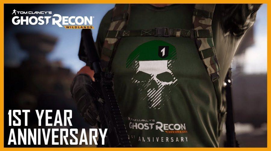 Ghost Recon: Wildlands celebra 1 ano de existência com itens especiais