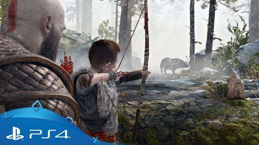 Absurdo!Sony revela 15 minutos incríveis de God of War