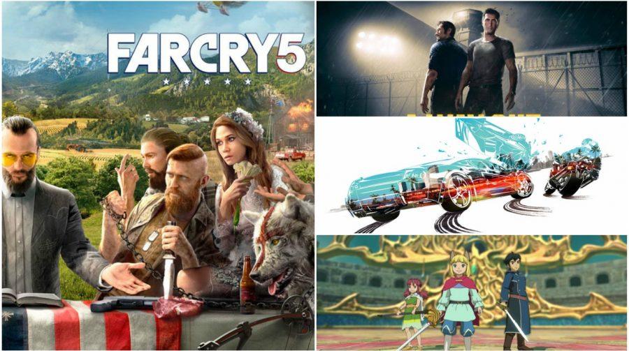 Lançamentos de Março de 2018 para PS4, PSVR e PSVITA