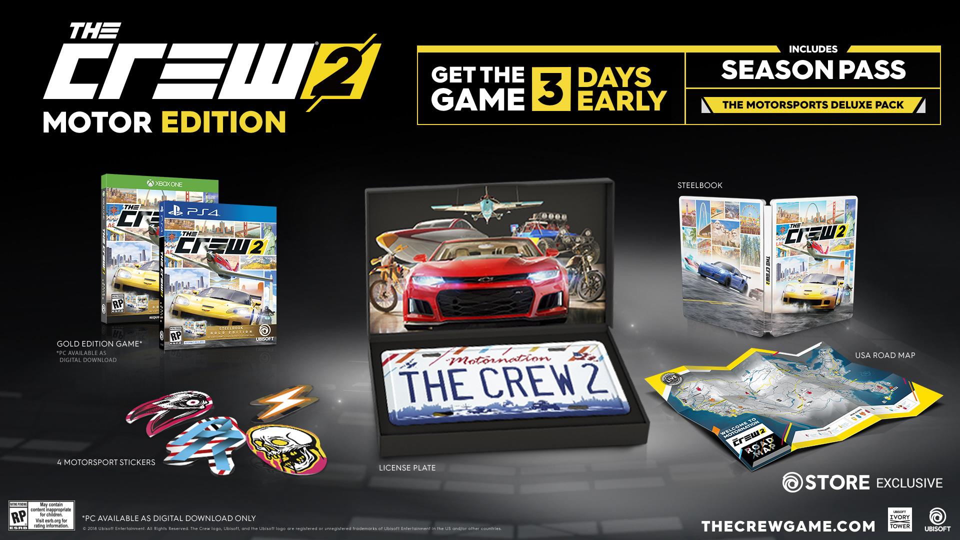 Motor Edition The Crew 2