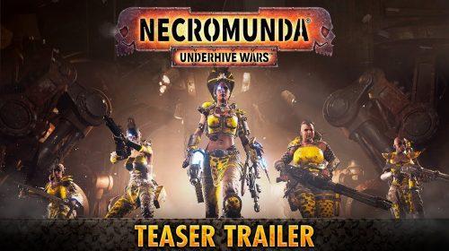 Necromunda Underhive Wars é anunciado para o PlayStation 4