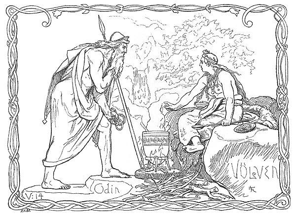 Odin na Mitologia Nórdica