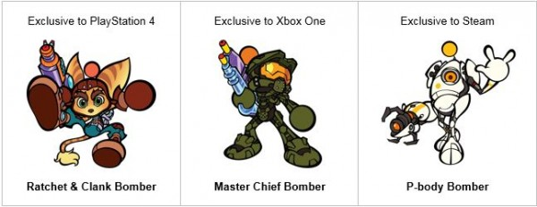Personagens Bomberman